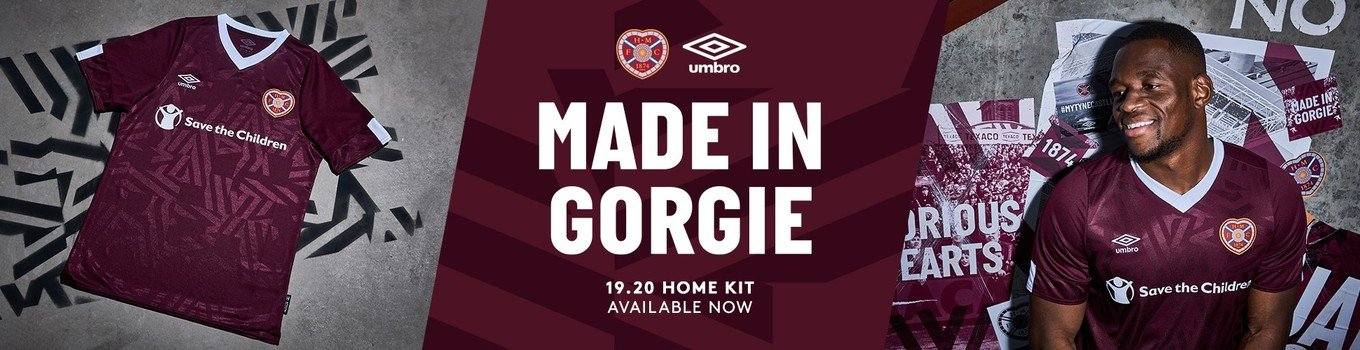 Hearts Kit on Heart of Midlothian