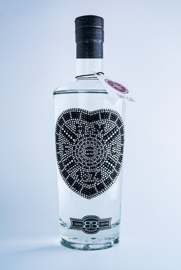 Black Crystal Edition HMFC  premium Gin