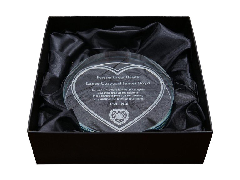 Etched Glass Replica Memorial Plaque - Can only be purchased if you have a plaque in the memorial garden