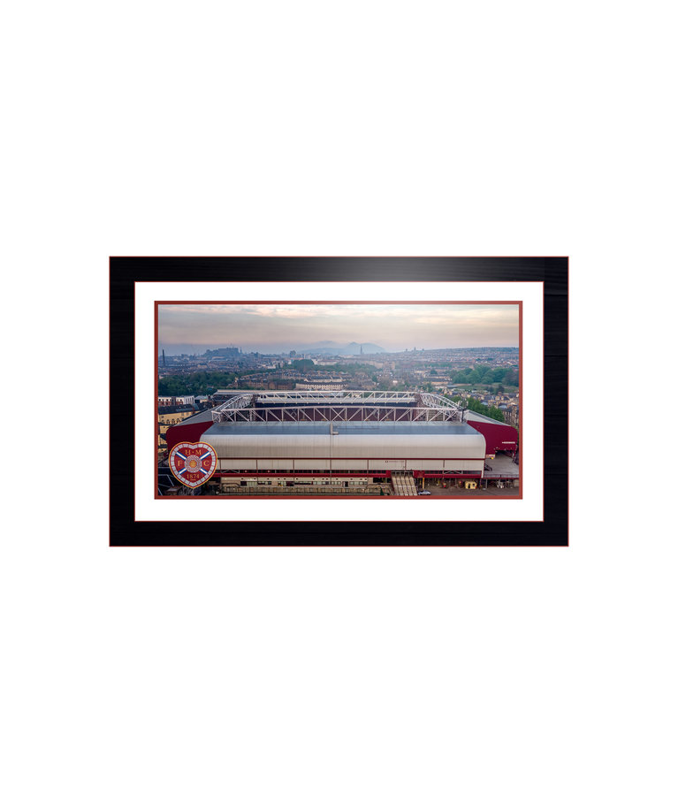 Framed Aerial Image by Andy Braid Ltd Edition