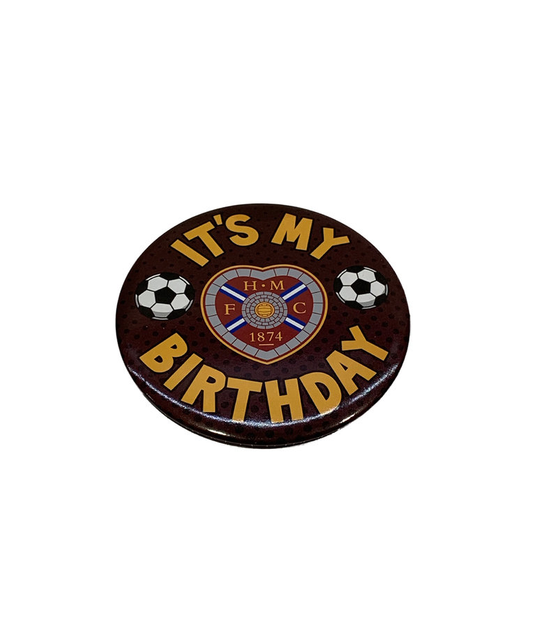 Giant It's My Birthday Football Badge