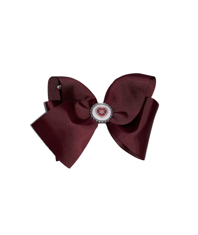 HMFC Maroon Large Bow