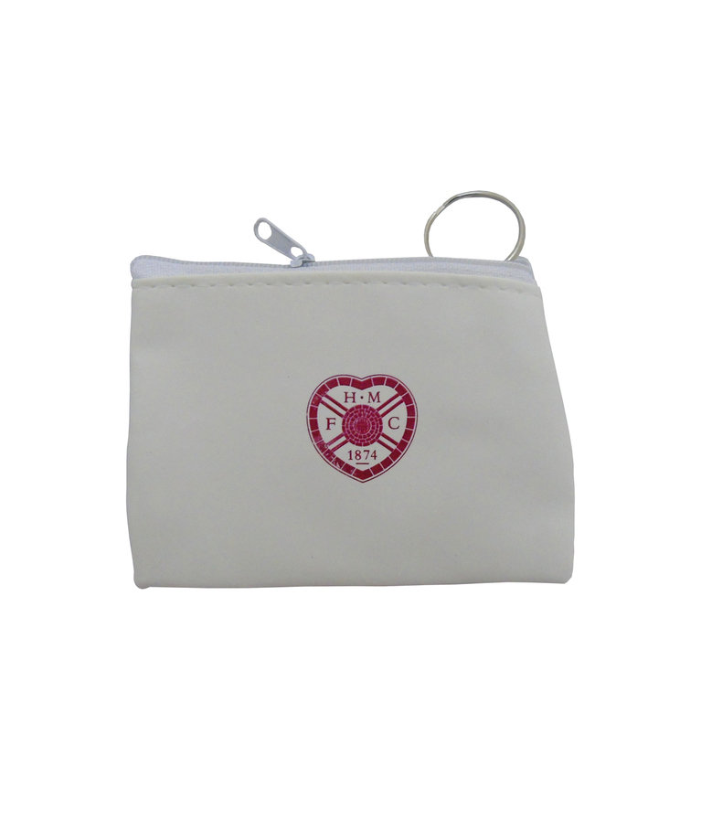 HMFC White Coin Purse