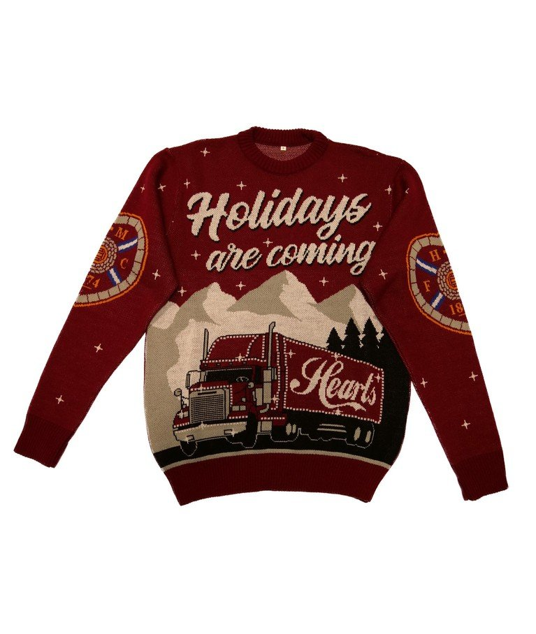 Holiday's are Coming Christmas Jumper