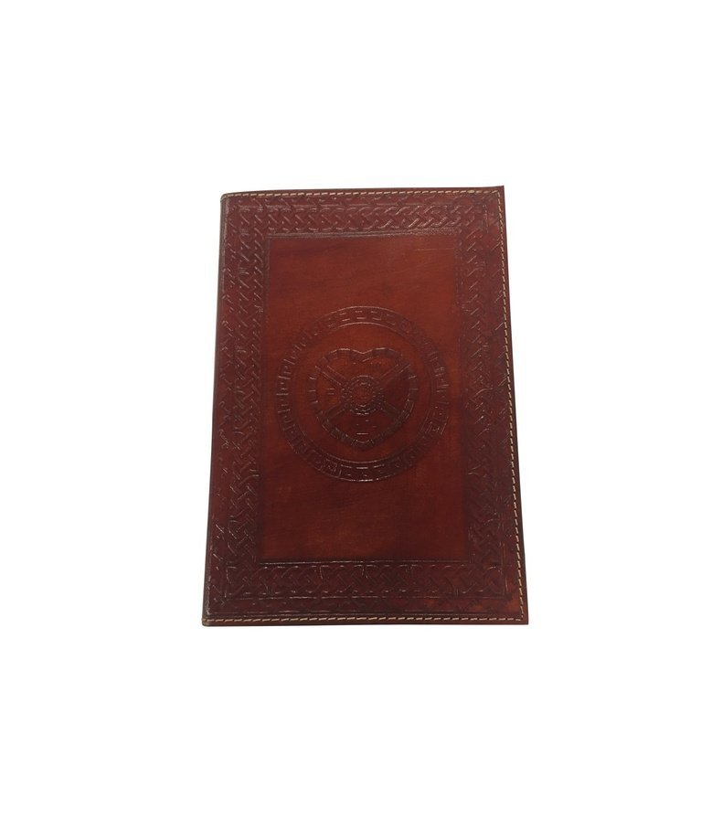 Small Handcrafted Leather Notebook Folder