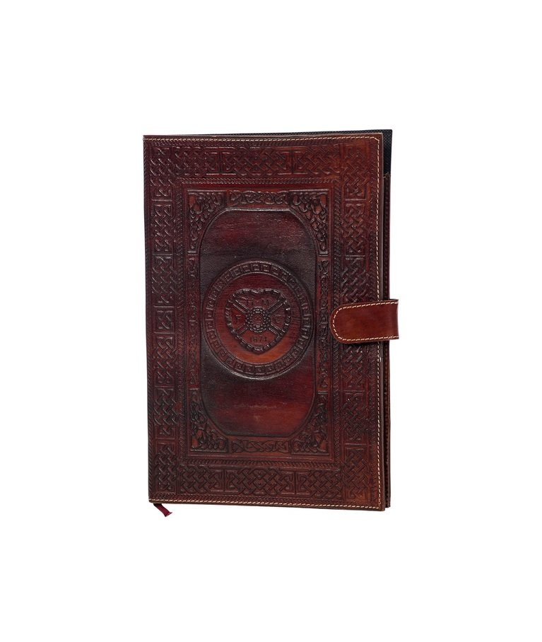 Medium Handcrafted Leather Document Folder