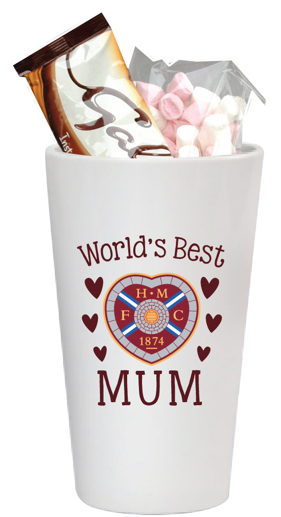 World's Best Mum Hot Chocolate Latte Mug Set