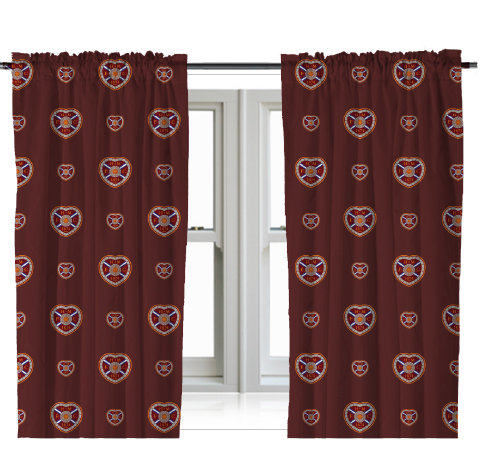"Multi Crest 72"" Drop Curtains"
