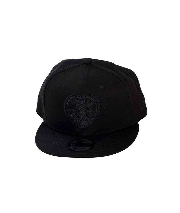 New Era Embroidered Cap - Black