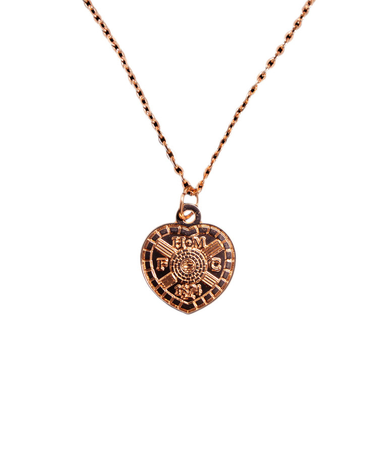 Rose Gold Plated Pendant & Chain
