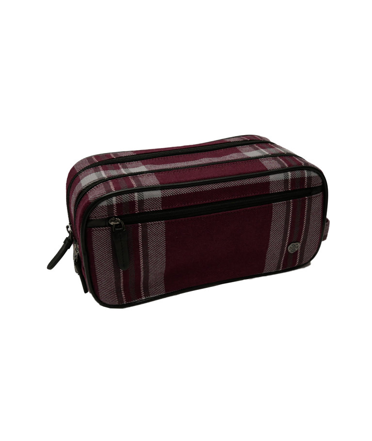 Tynecastle Park Tartan Wash Bag