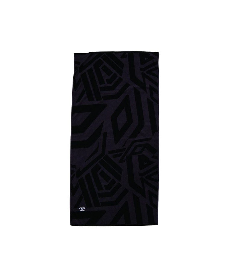 Umbro Poolside Collection Towel - Black