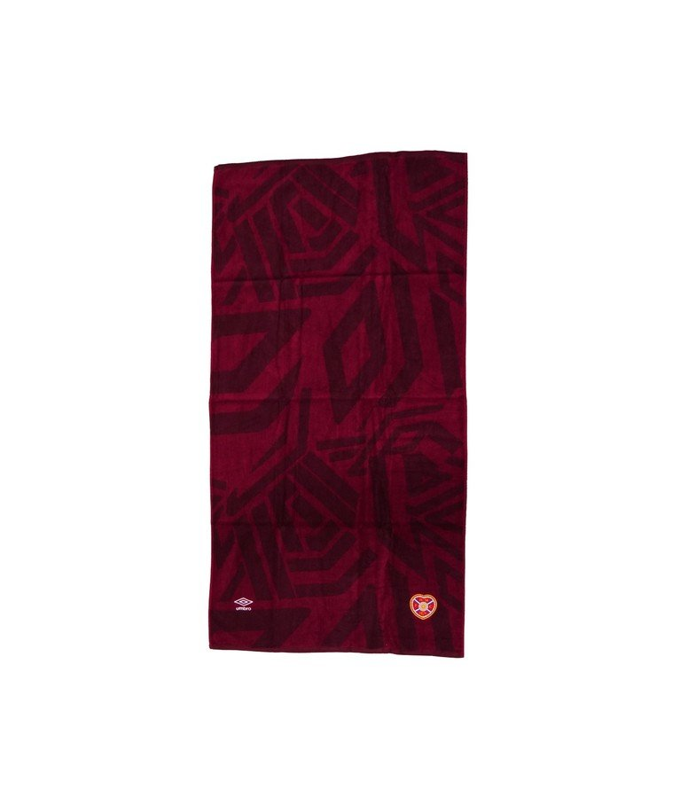 Umbro Poolside Collection Towel - Maroon